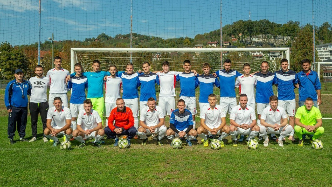 Football team of Serbs from Croatia