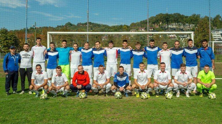 Football team of Serbs from Croatia